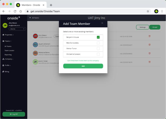 Team members - invite-1